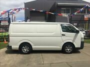 2008 Toyota Hiace KDH201R MY07 Upgrade LWB White 5 Speed Manual Van Brooklyn Brimbank Area Preview