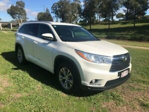 2015 Toyota Kluger GSU55R GXL (4x4) Crystal Pearl 6 Speed Automatic Wagon Oakey Toowoomba Surrounds Preview