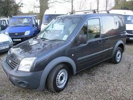 2009 Ford Transit Connect 1.8TDCi ( 75PS ) T200 SWB AIR CON MET GREY NO VAT