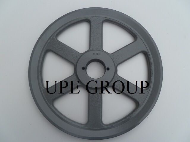 """Cast Iron pulley  SHEAVE 11.25"""" for electric motor 1 groove  3L 4L & A  belts"""