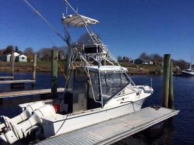 1989 26' Blackwatch Sportfishing boat