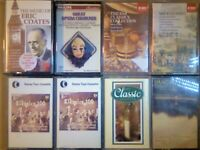 CSL ERIC COATES LIGHT MUSIC, OPERA CHORUSES, VARIOUS COMPOSER CLASSICAL PRERECORDED CASSETTE TAPES
