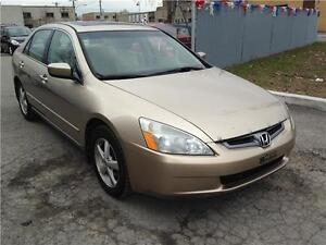 Honda Accord 2005 fully loaded  leather seats