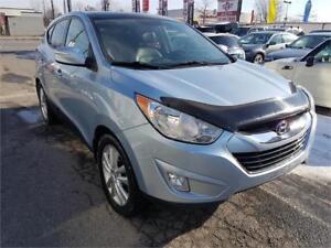 2011 Hyundai Tucson Limited, 4X4, CAM, NAV, CUIR, TOIT, MAGS,...