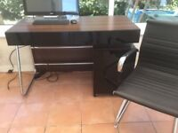 Desk, Cabinet and Chair