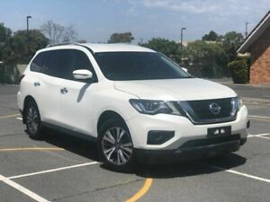 2017 Nissan Pathfinder R52 Series II MY17 ST X-tronic 2WD White 1 Speed Constant Variable Wagon Chermside Brisbane North East Preview