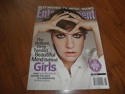 Entertainment Weekly Magazine Lena Dunham Girls Mint Copy
