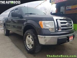 2010 Ford F-150 XLT SUPER CREW REDUCED! CERTIFIED! 4X4! WARRANTY