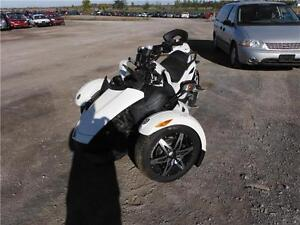 2011 CAN AM SPYDER **BRANDED IRREPAIRABLE**