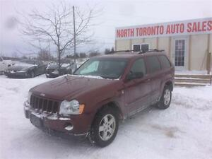 2007 JEEP GRAND CHEROKEE LAREDO - VALID E TEST  4X4 - LEATHER