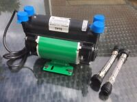 Techflow TP75 2.0 bar Twin Shower Pump