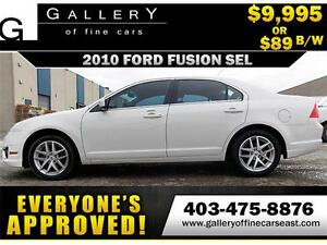 2010 Ford Fusion SEL AWD V6 $89 biweekly APPLY TODAY DRIVE TODAY