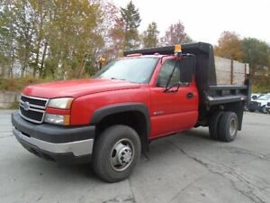 2007 Chevrolet Silverado 3500 Classic With Dump