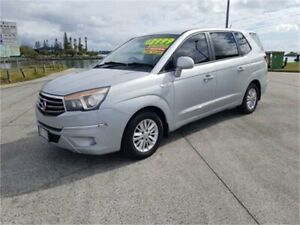 2014 Ssangyong Stavic A100 MY13 Silver 5 Speed Automatic Wagon Cleveland Redland Area Preview