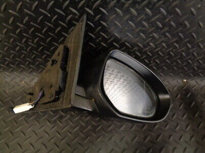 2010 MAZDA 6 2.0D 5DR DRIVERS WING MIRROR HEATED POWER FOLDING BLACK E4022683