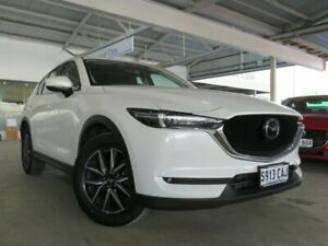 2018 Mazda CX-5 KF4W2A GT SKYACTIV-Drive i-ACTIV AWD White 6 Speed Sports Automatic Wagon Edwardstown Marion Area Preview