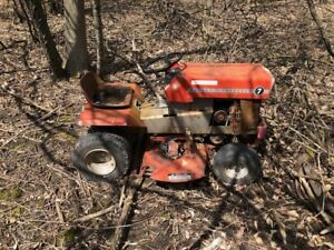 3 Lawn Tractors For Sale *Parts or Restoration Project*