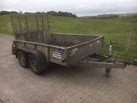 USED IFOR WILLIAMS GD85 TRAILER 2015