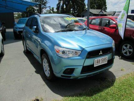 2011 Mitsubishi ASX XA MY11 2WD Blue 6 Speed Constant Variable Wagon