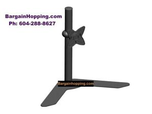 10-23 inch Free Stand Alone Desk Top Monitor TV Mount Bracket
