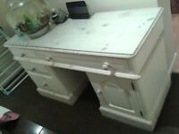 Hand Painted Wooden Desk