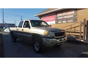 2005 GMC Sierra 2500HD SLE***LEATHER***V8 6.0L****