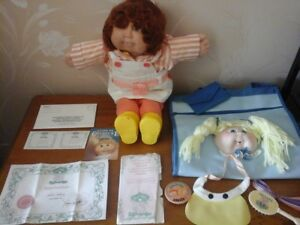 Cabbage Patch Doll and Purse