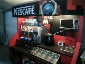 Complete Coffee Display and Snack Centre with Storage PRICE DROP Peterborough Peterborough Area image 1