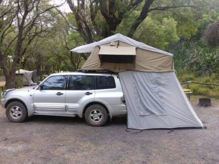 Mitsubishi PAJERO 4WD 3.5L V6 2001 - road trip / backpacker equipped
