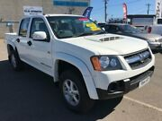 2010 Holden Colorado RC MY11 LX (4x4) White 5 Speed Manual Crew Cab Pickup Mitchell Gungahlin Area Preview