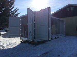 20ft Full Side-Open Container ~ brand new, one-trip 6 door Cambridge Kitchener Area image 3