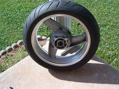 Kawasaki Rear Wheel / Tire /Bearing/Seal- Enkel-J17 x MT 4.50