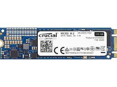 Crucial MX300 M.2 2280 275GB SATA III 3-D Vertical Internal Solid State Drive (S