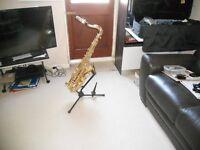 jupiter professional tenor sax model 989gl