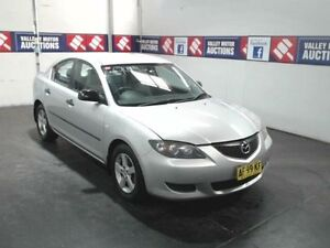 2005 Mazda 3 BK Neo Silver 5 Speed Manual Sedan Cardiff Lake Macquarie Area Preview