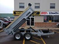 2015 Cam Advantage 6' x 10' Dump Trailer