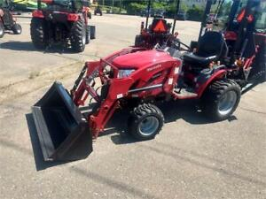Mahindra Tractor eMax 25L Loader and Backhoe