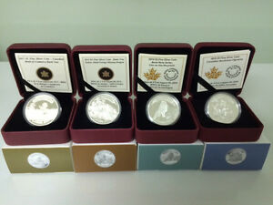 "2013-2015 RCM The Complete Set Of 4 Coins ""Canadian Bank Notes"""
