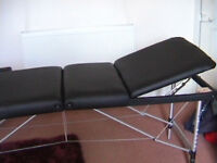 Massage Table complete with carrying bag