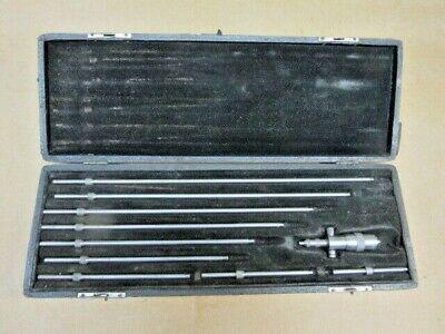 Starrett Inside Micrometercase 10 Extensions
