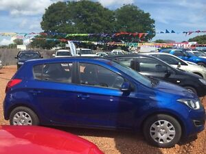 2015 Hyundai i20 Blue 4 Speed Auto Active Select Hatchback Hidden Valley Darwin City Preview
