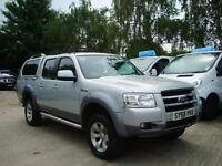 2008 FORD RANGER Pick Up XLT Super 2.5 TDCi 4WD NO VAT