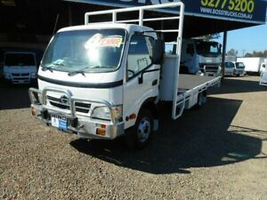 2008 Hino 916 300 White Tray Truck 4x2 Rocklea Brisbane South West Preview