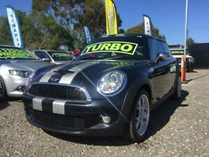 2007 Mini Hatch R56 Cooper S Chilli Black 6 Speed Manual Hatchback Elizabeth West Playford Area Preview
