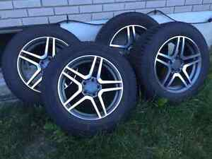 ◆ ◆◆ 4 mags Mercedes Benz avec pneus !!! 4 wheels for Mercedes