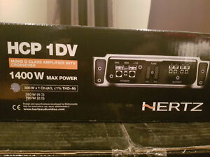 BNIB Hertz Compact Power Series 1400W Class D Mono Amplifier Strathcona County Edmonton Area image 1