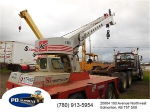 2001 Shuttlelift 3340B 10.5 ton Carry Deck Crane