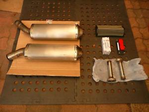 OEM Ducati 848 stock exhaust-ECU-air filter