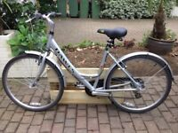 Ladies Dawes 'Red Feather' Silver Bicycle in good condition - great for uni!
