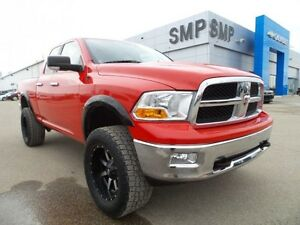 2011 Ram 1500 SLT 4X4, PST paid, A/C, lift kit, alloys, SMP